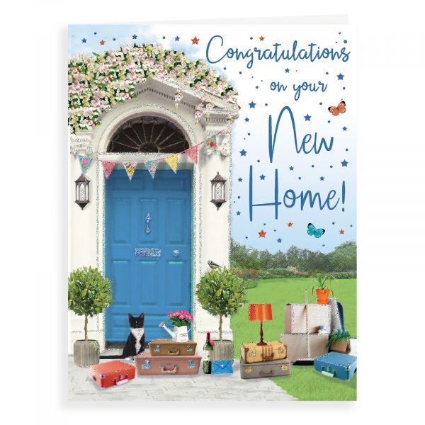 New Home Card, Front Door