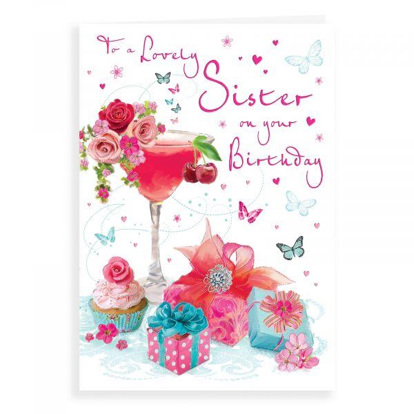 Birthday Card Sister, Cocktail