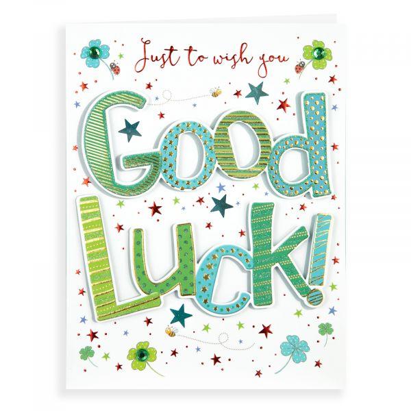 Good Luck Card, Clover 1