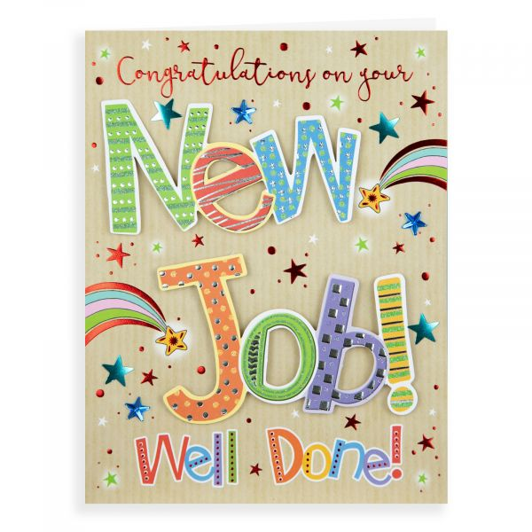 New Job Card, Starburst