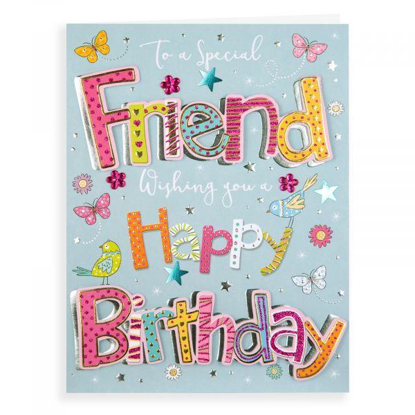 Birthday Card Friend, Birds