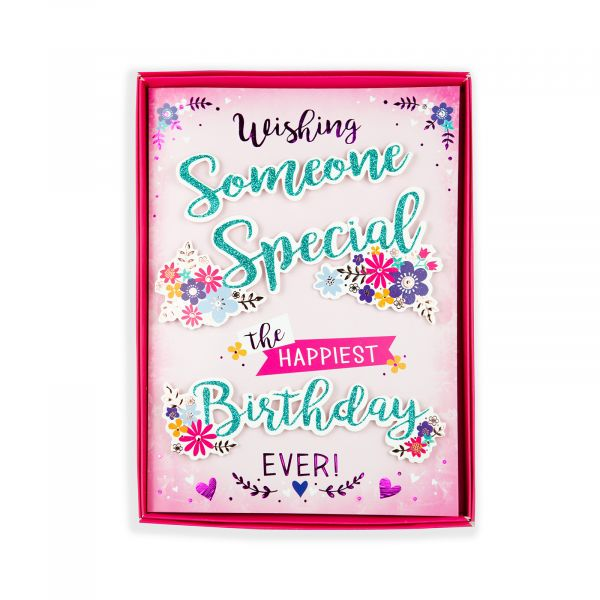 Birthday Boxed Card Someone Special