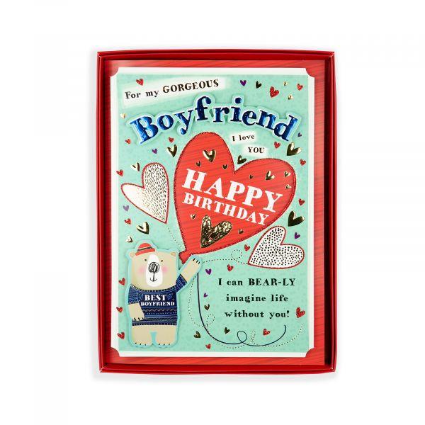 Birthday Boxed Card Boyfriend