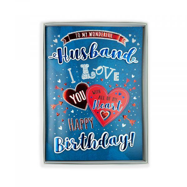Birthday Boxed Card Husband