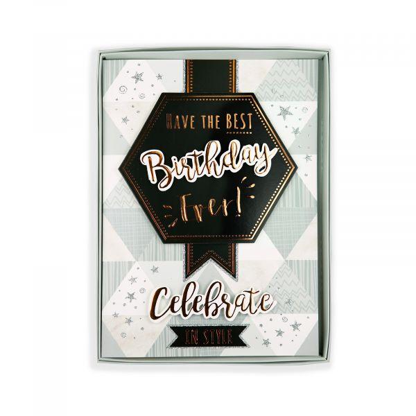 Birthday Boxed Card Birthday, Graphic