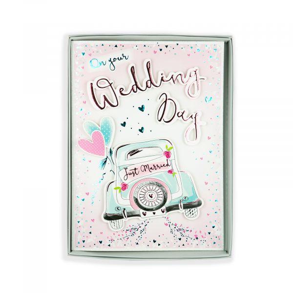Birthday Boxed Card Wedding, Car