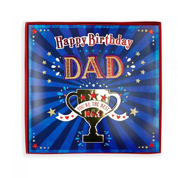 Birthday Boxed Card Dad, Trophy