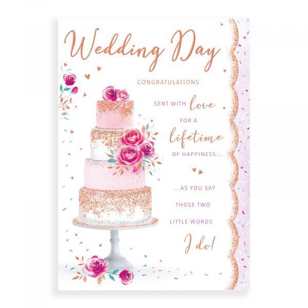 Wedding Card, Cake 2
