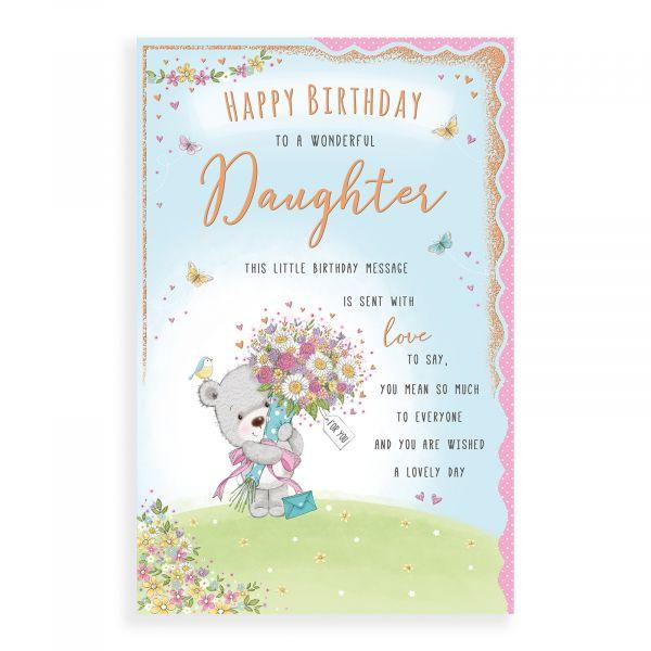 Birthday Card Daughter, Bear