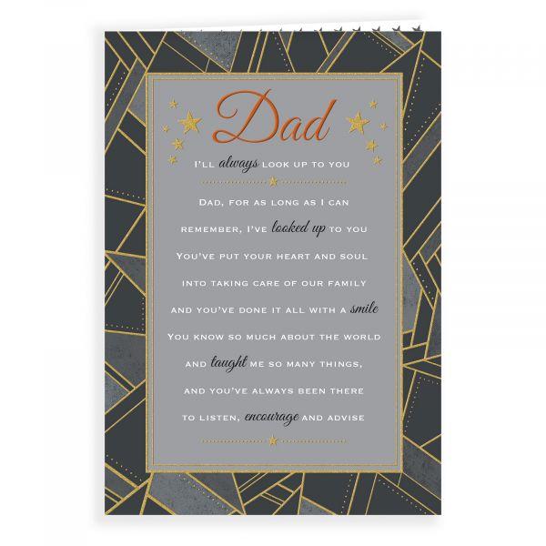 Birthday Card Dad, Geometric