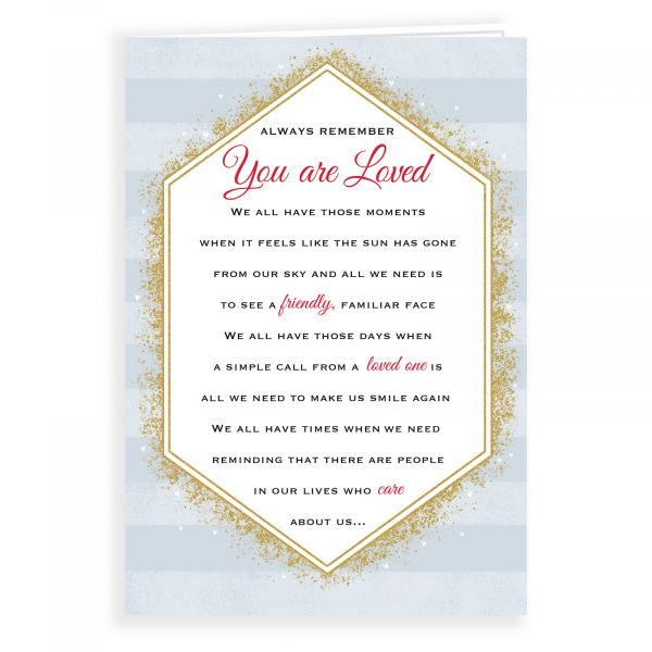 Thinking of You Card You are Loved