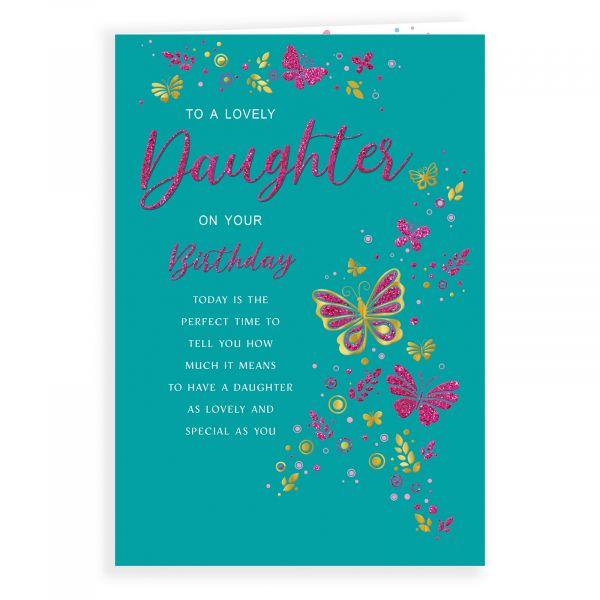 Birthday Card Daughter, Butterflies