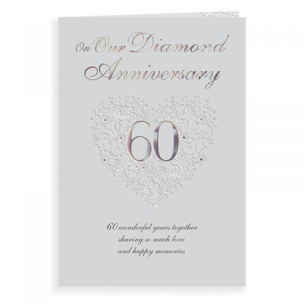 Anniversary Card Diamond Our