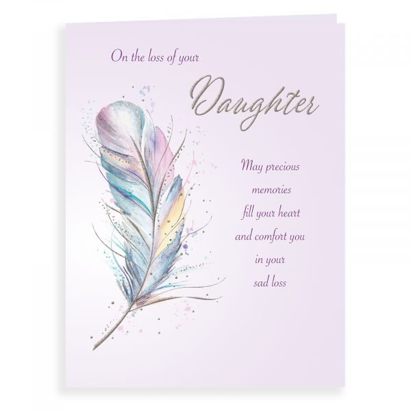 Sympathy Card Daughter