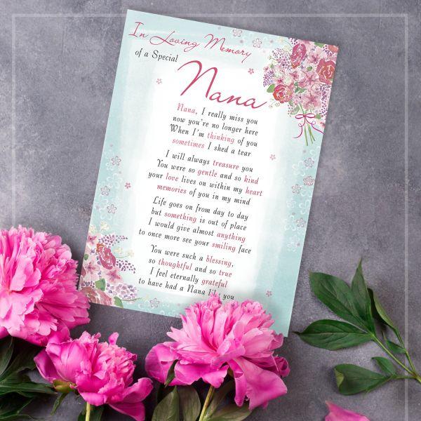 Christmas Card Nana