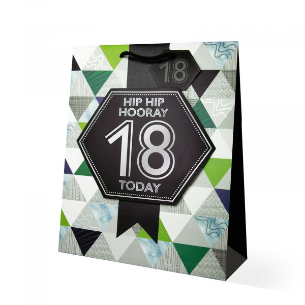 Age 18 Male Large Gift Bag