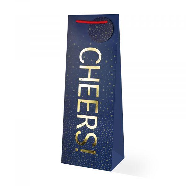 Cheers Bottle Gift Bag