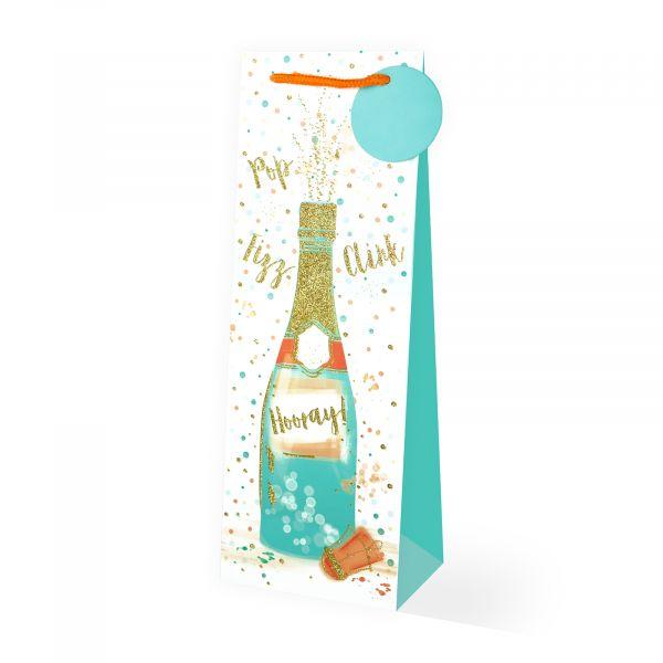 Champagne Bottle Gift Bag