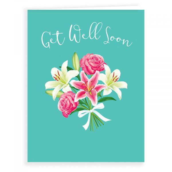 Get Well Card, Bouquet