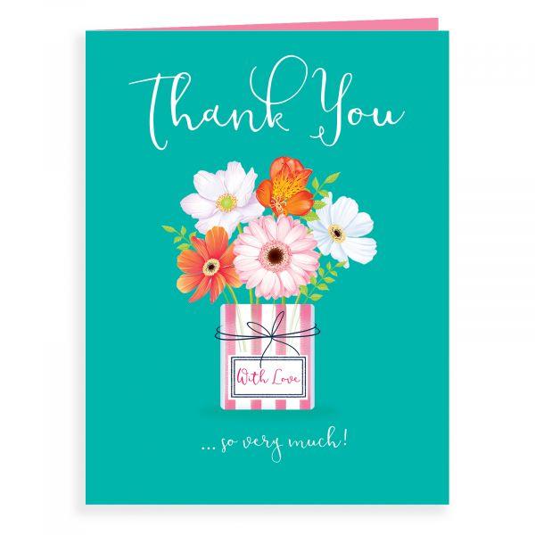 Thank You Card, Vase