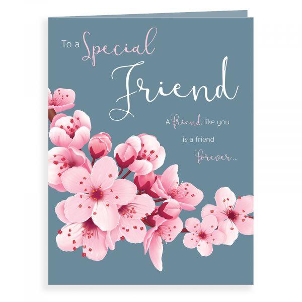 Birthday Card Open, Blossom