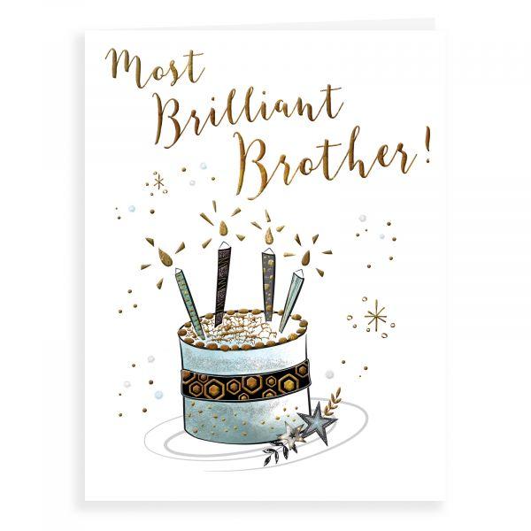 Birthday Card Brother, Cake