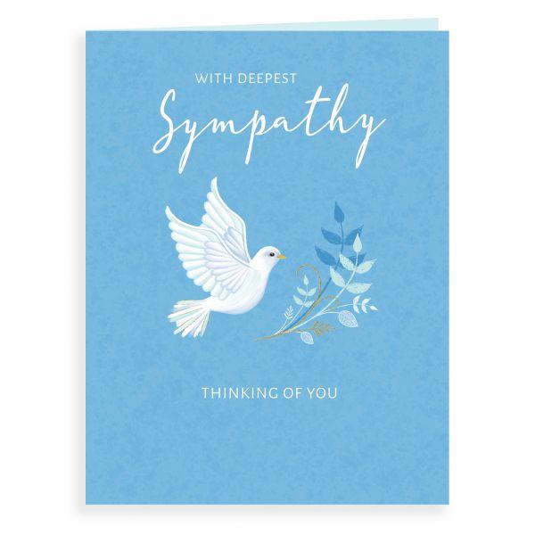 Sympathy Card, Dove