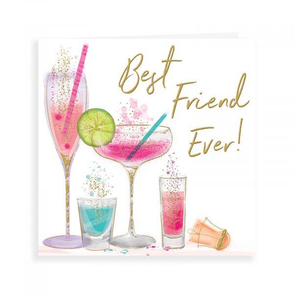Birthday Card Friend, Glasses