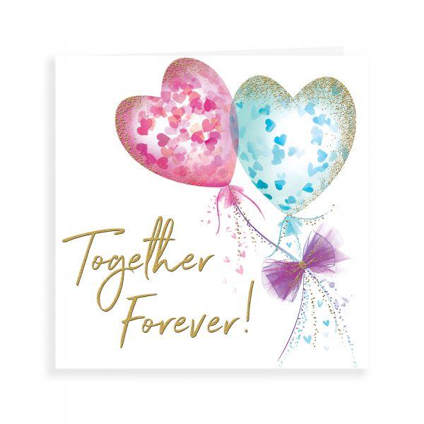 Wedding Card Love, Together Forever