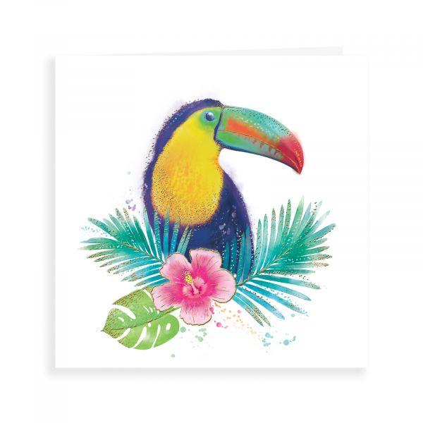 Blank Card, Toucan Bird