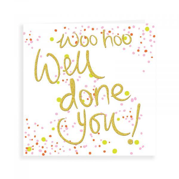 Congratulations Card, Woo Hoo