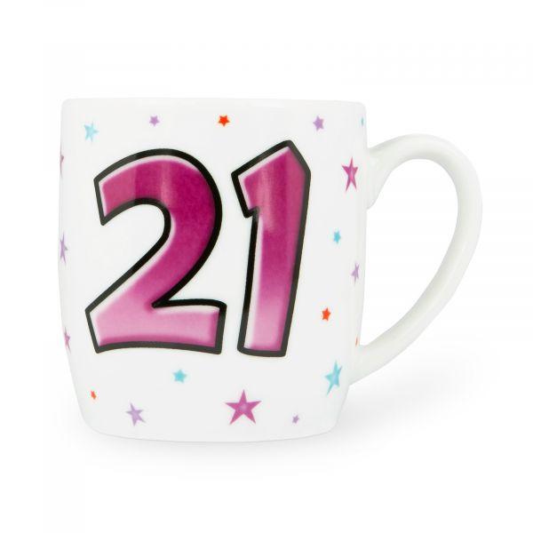 Age 21 Female Mug