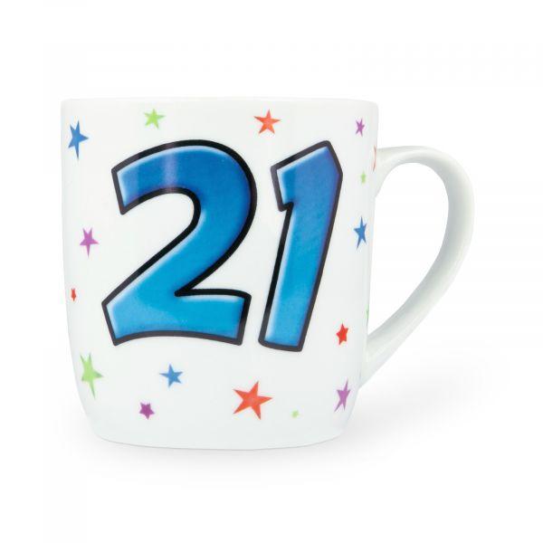 Age 21 Male Mug