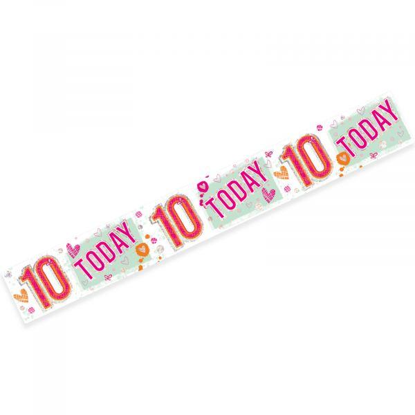Age 10 Female Banner