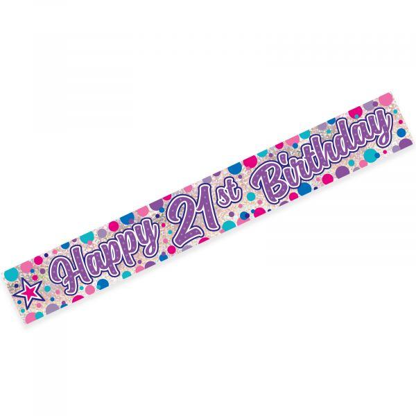 Age 21 Female Banner