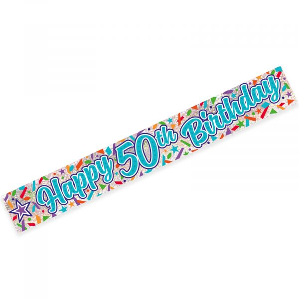 Age 50 Banner