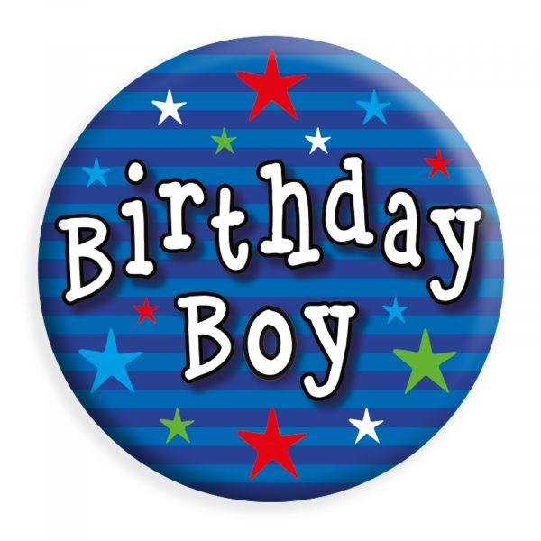 Birthday Boy Small Badge