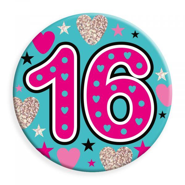 Age 16 Female Jumbo Badge
