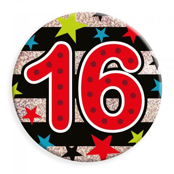 Age 16 Male Jumbo Badge