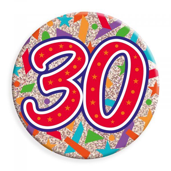 Age 30  Jumbo Badge