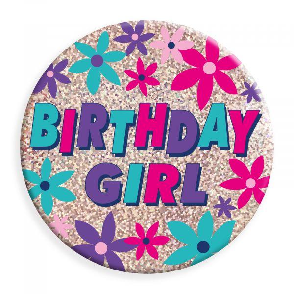 Birthday Girl Jumbo Badge