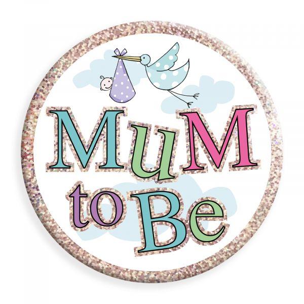 Mum to Be Jumbo Badge