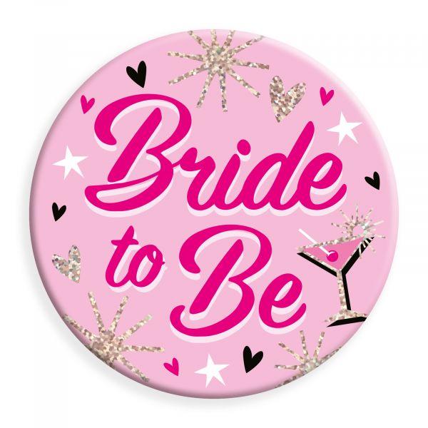 Bride to Be Jumbo Badge