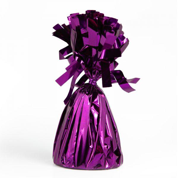 Foil Balloon Weight  Purple