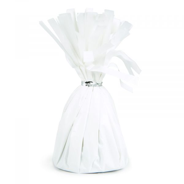 Foil Balloon Weight  White