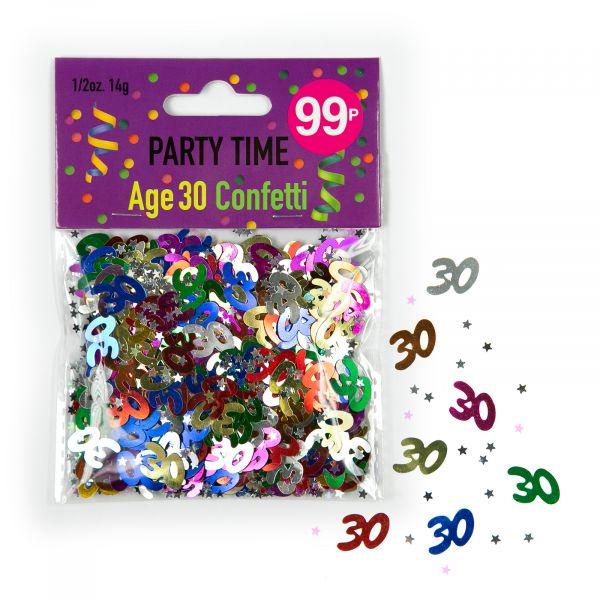 Confetti Age 30