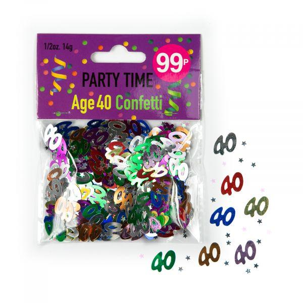 Confetti Age 40