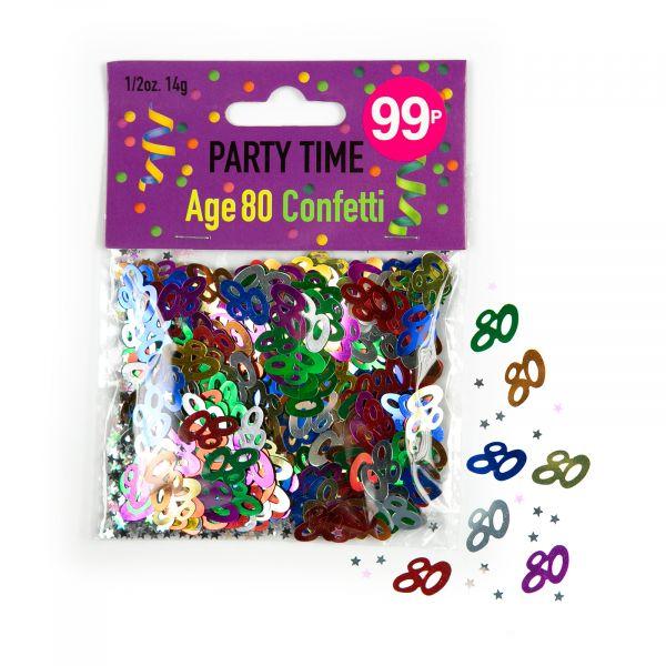 Confetti Age 80