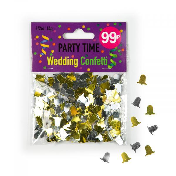 Confetti Wedding Bells