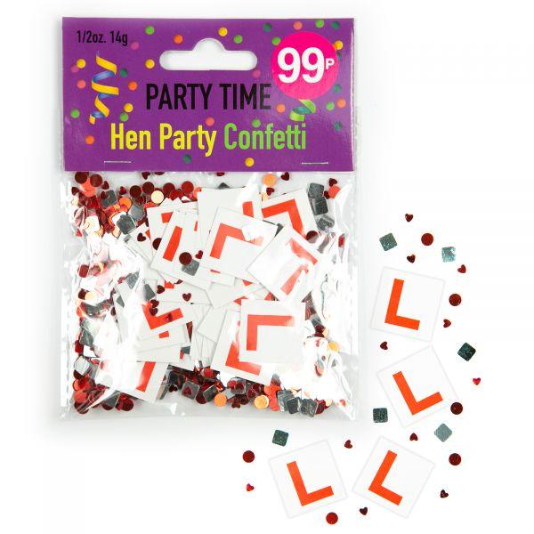 Confetti Hen Party